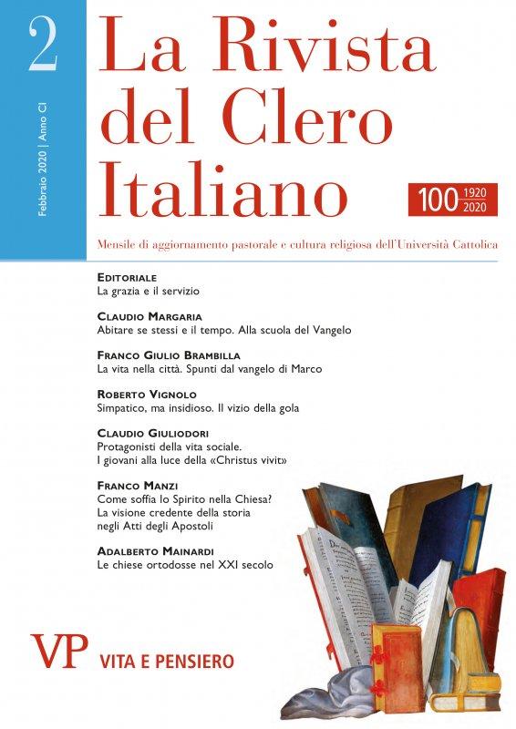 LA RIVISTA DEL CLERO ITALIANO - 2020 - 2