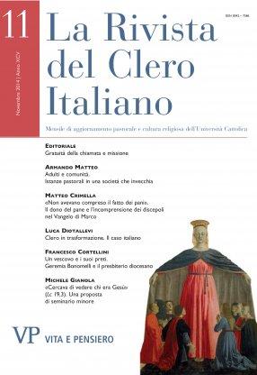 LA RIVISTA DEL CLERO ITALIANO - 2014 - 11