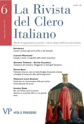 LA RIVISTA DEL CLERO ITALIANO - 2014 - 6