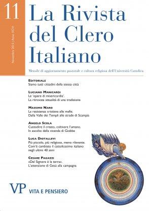 LA RIVISTA DEL CLERO ITALIANO - 2015 - 11