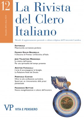 LA RIVISTA DEL CLERO ITALIANO - 2015 - 12