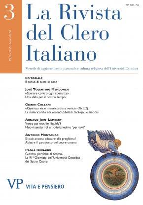 LA RIVISTA DEL CLERO ITALIANO - 2015 - 3
