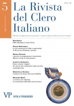LA RIVISTA DEL CLERO ITALIANO - 2015 - 5