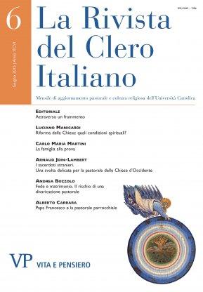 LA RIVISTA DEL CLERO ITALIANO - 2015 - 6