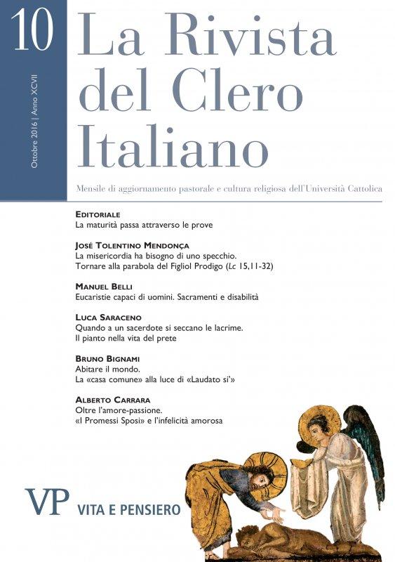LA RIVISTA DEL CLERO ITALIANO - 2016 - 10