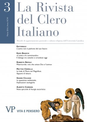 LA RIVISTA DEL CLERO ITALIANO - 2016 - 3