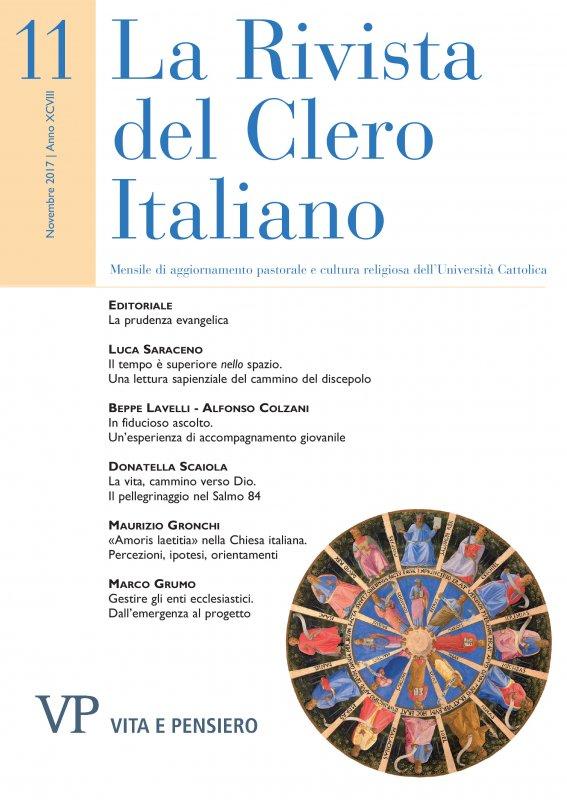 LA RIVISTA DEL CLERO ITALIANO - 2017 - 11