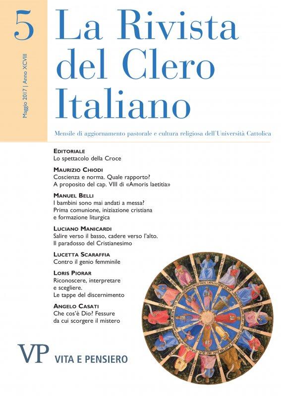 LA RIVISTA DEL CLERO ITALIANO  - 2017 - 5