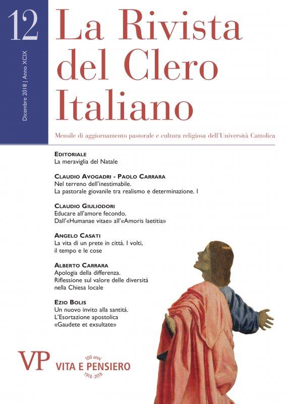 LA RIVISTA DEL CLERO ITALIANO - 2018 - 12