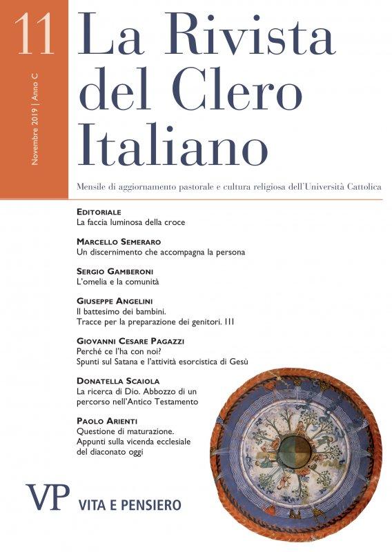 LA RIVISTA DEL CLERO ITALIANO - 2019 - 11