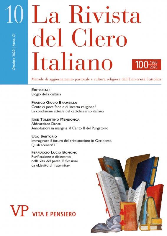 LA RIVISTA DEL CLERO ITALIANO - 2020 - 10