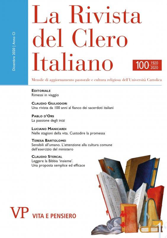 LA RIVISTA DEL CLERO ITALIANO - 2020 - 12
