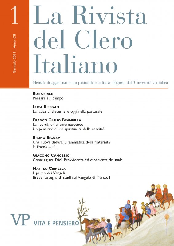 LA RIVISTA DEL CLERO ITALIANO - 2021 - 1