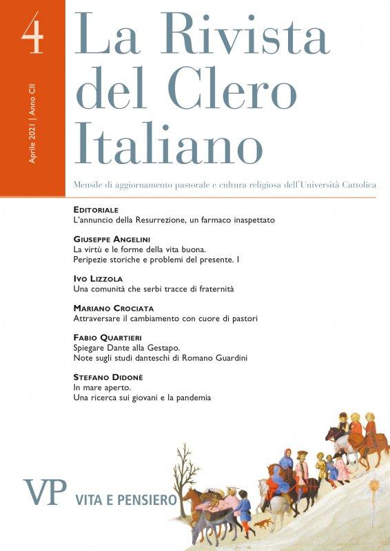 LA RIVISTA DEL CLERO ITALIANO - 2021 - 4
