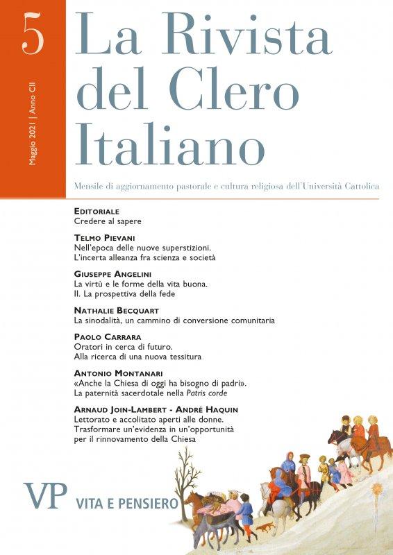 LA RIVISTA DEL CLERO ITALIANO - 2021 - 5