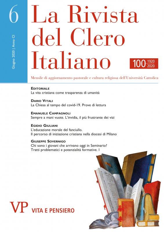 L'educazione morale del fanciullo. Il percorso di iniziazione cristiana nella diocesi di Milano