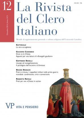 LA RIVISTA DEL CLERO ITALIANO - 2014 - 12