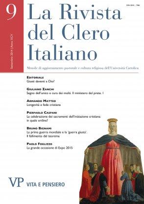 LA RIVISTA DEL CLERO ITALIANO - 2014 - 9