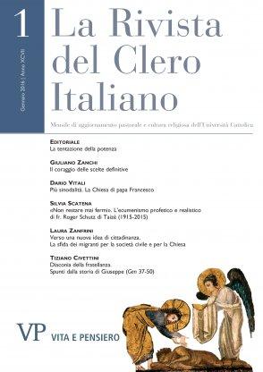 LA RIVISTA DEL CLERO ITALIANO - 2016 - 1